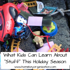 What Kids Can Learn ABout STuff This Holiday Season