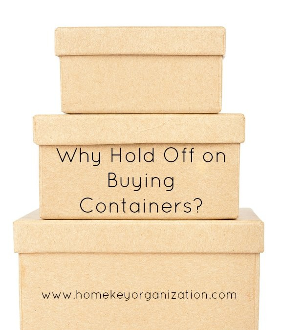 Hold Off On Containers