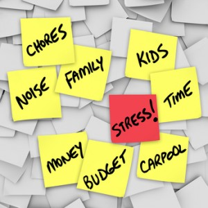 Stressful situations can be helped by family routines