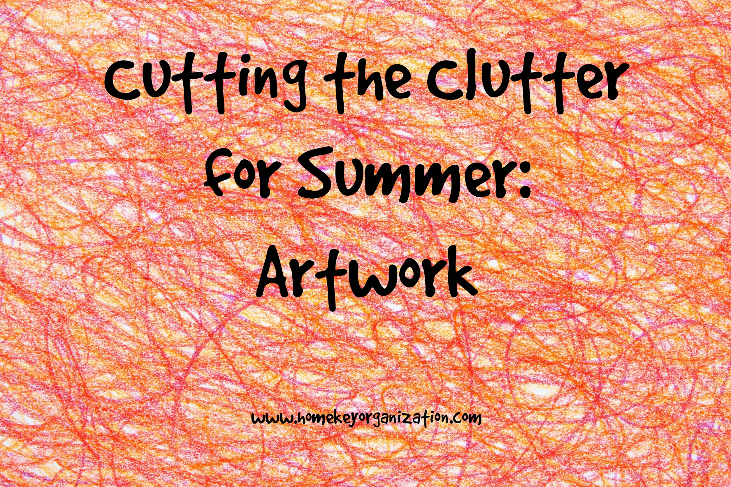 Cutting the Clutter for Summer – Artwork