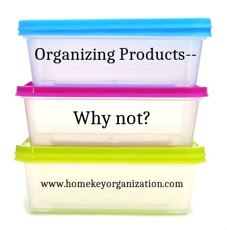 Organizing Products – Why Not?