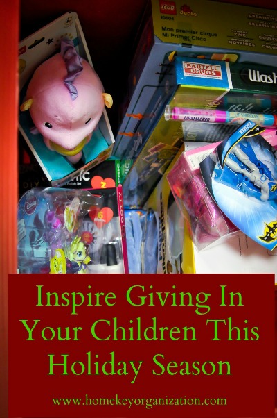 Inspiring Giving In Your Children This Holiday Season