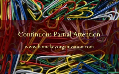 Continuous Partial Attention