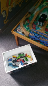 Train Table at Wallingford Family Chiropractic in Seattle, Washington