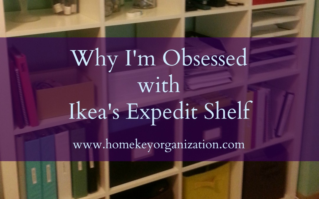 Why I'm Obsessed With Ikea's Expedit Shelf