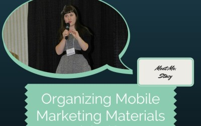 Organizing Mobile Marketing Materials