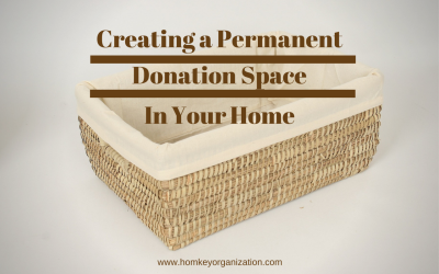 Creating a Permanent Donation Space In Your Home