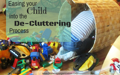 Easing Your Child Into The De-Cluttering Process