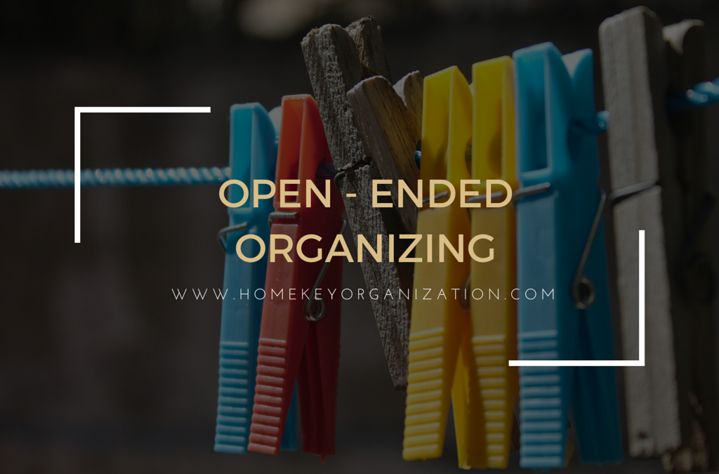 Open-Ended Organizing