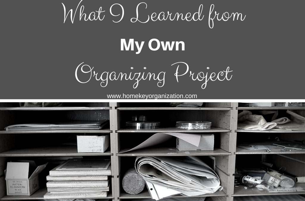 What I Learned From My Own Organizing Project