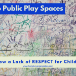 Public Play spaces, a lack of respect for children? Home Key Organization Seattle