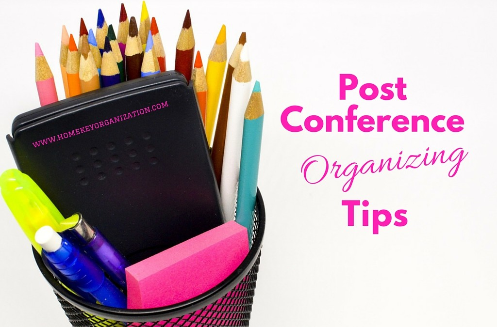Guest Post – Post-Conference Organizing Tips