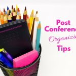 Post Conference Organizing tips home key organization seattle
