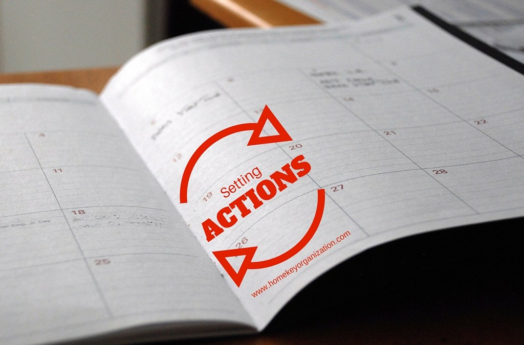 Setting Actions