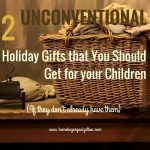 Unconventional gifts for children home key organization seattle
