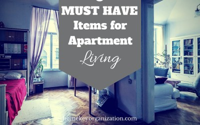 Eight Must-Have Items for Apartment Living