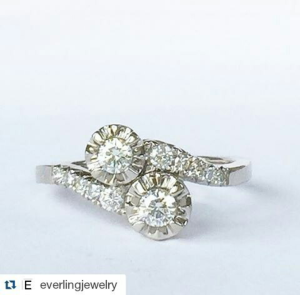 Photo courtesy of @EverlingJewelry - Visit Everling Jewelry on Instagram or at www.everlingjewelry.com