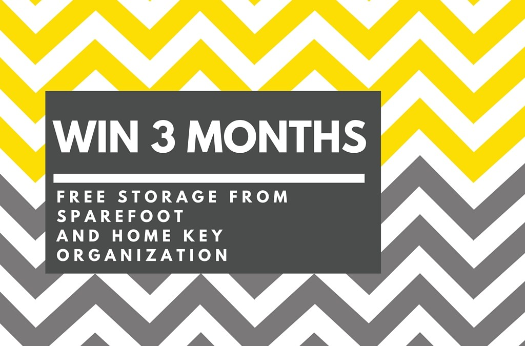 Win 3 Months of FREE Storage from Sparefoot.com!